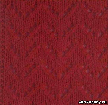вязание спицами схемы ажурных вязок:
